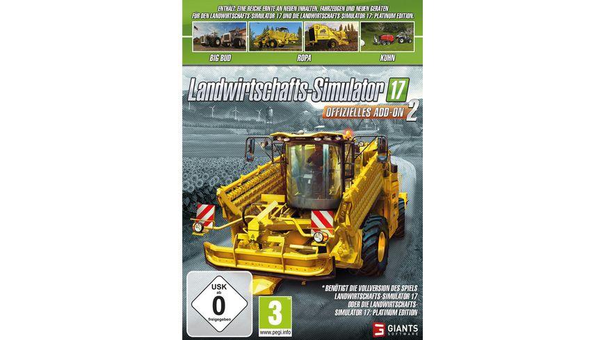 Landwirtschafts Simulator 17 Offizielles Add O2