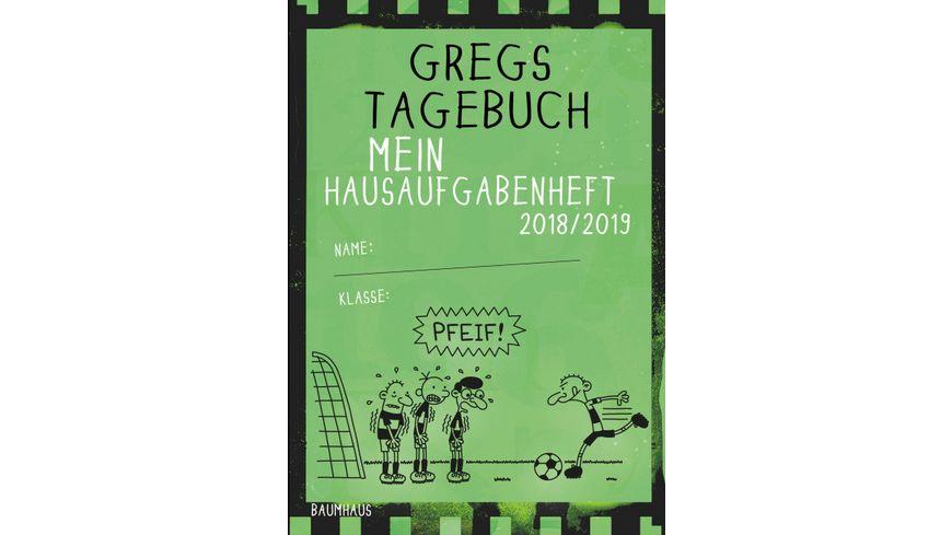 Gregs Tagebuch Hausaufgabenheft 2018 19