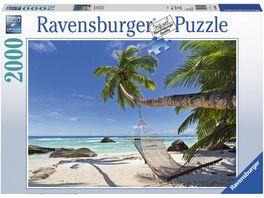 Ravensburger Puzzle Haengematte am Strand 2000 Teile