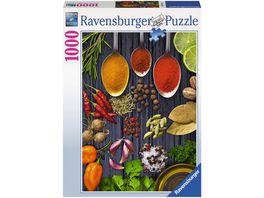 Ravensburger Puzzle llerlei Gewuerze 1000 Teile