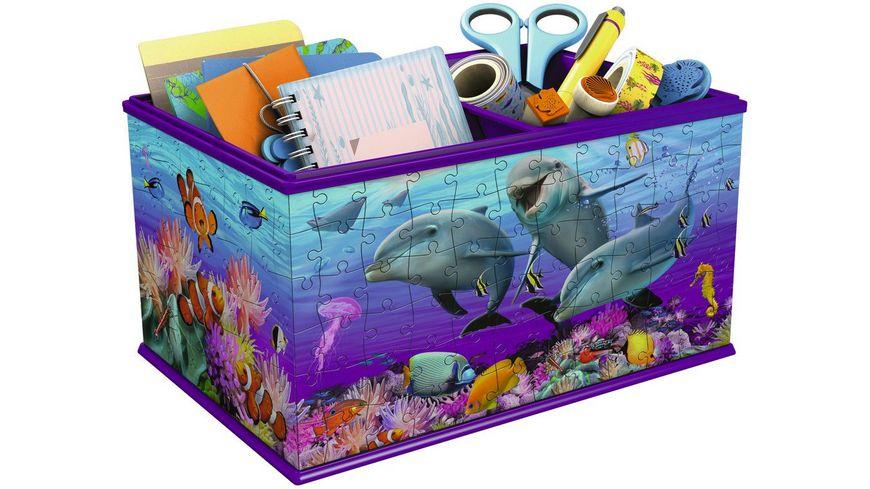 Ravensburger Puzzle 3D Puzzles Girly Girl Edition Aufbewahrungsbox Unterwasser 216 Teile