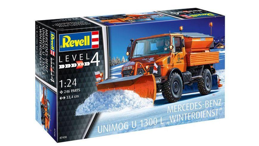 Revell 7438 Mercedes Benz U 1300 L Winterdienst