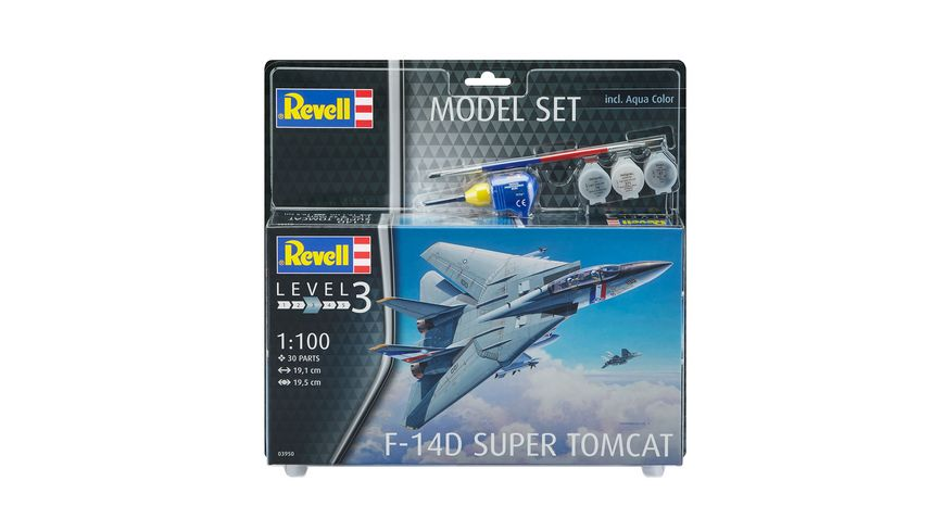 Revell 63950 Model Set F 14D Super Tomcat