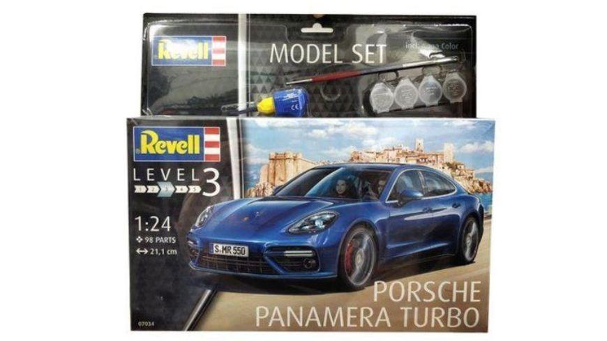 Revell 67034 Model Set Porsche Panamera Turbo