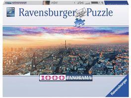 Ravensburger Puzzle Paris im Morgenglanz 1000 Teile