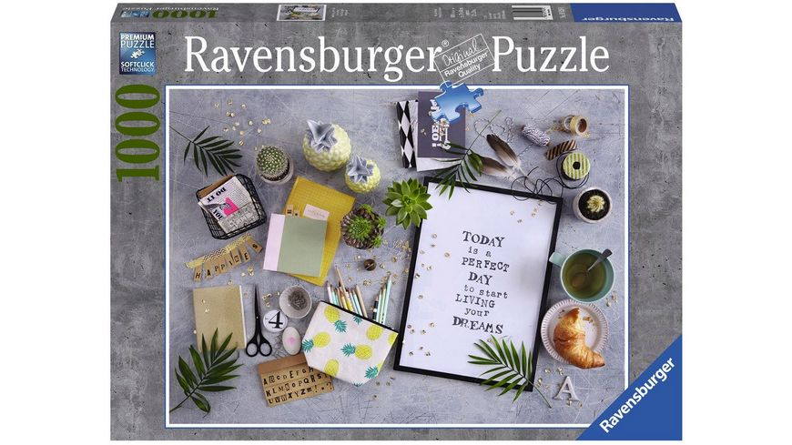 Ravensburger Puzzle Start living your dream 1000 Teile