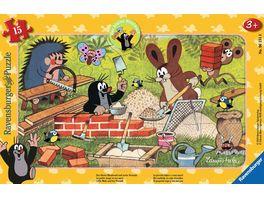Ravensburger Puzzle Der Maulwurf Der kleine Maulwurf und seine Freunde 15Teile