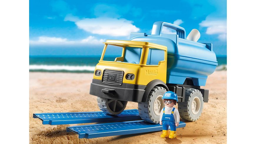 PLAYMOBIL 9144 Sand Wassertank Laster