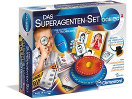 Clementoni Galileo Das Superagenten Set