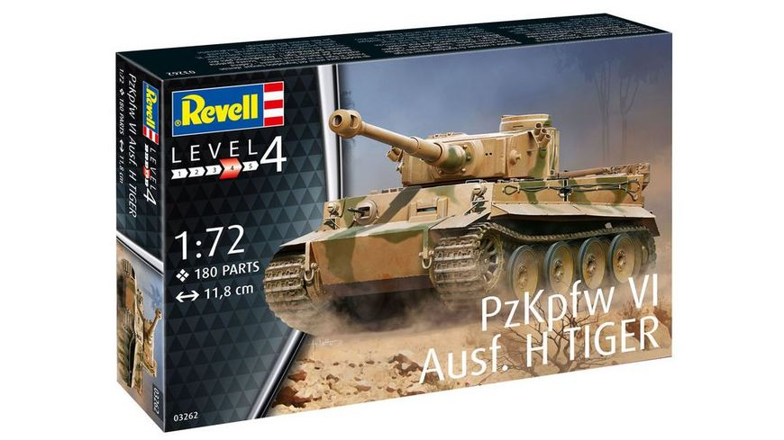 Revell 3262 PzKpfw VI Ausf H TIGER