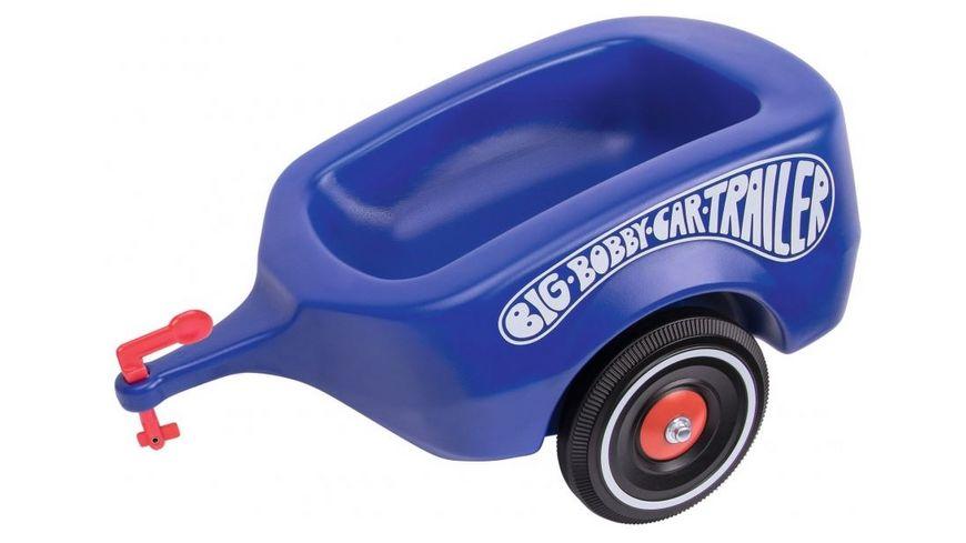 BIG BIG Bobby Car Trailer Royalblau