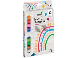 KREUL Texi maex sunny medium Stoffmalstifte 12er Set