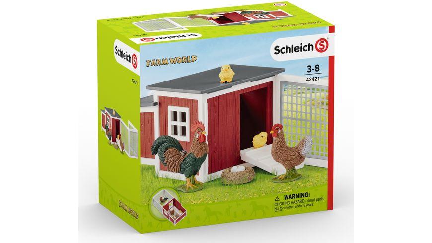 Schleich Farm World Huehnerstall