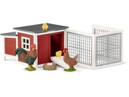 Schleich 42421 Farm World Huehnerstall