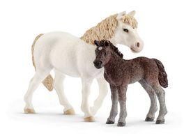 Schleich 42423 Farm World Pony Stute und Fohlen