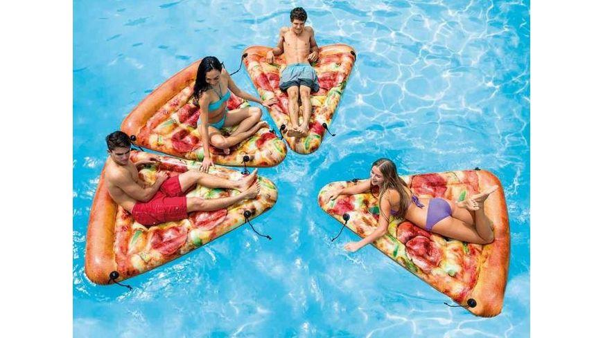 Intex Luftmatratze Pizzastueck 175 x 145 cm