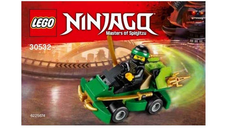 LEGO Ninjago Polybag 30532 Turbo Set