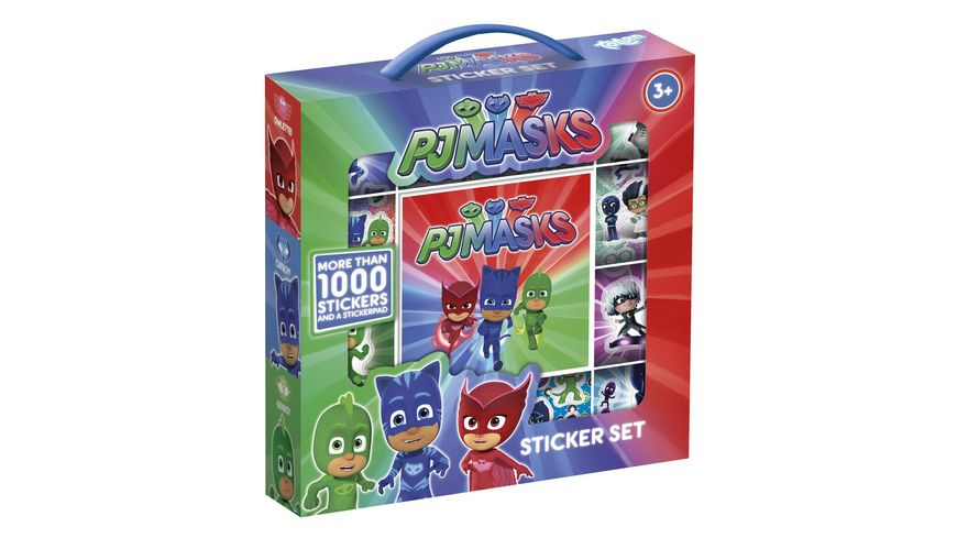 TM ESSENTIALS PJ Masks Pyjamahelden Stickerset