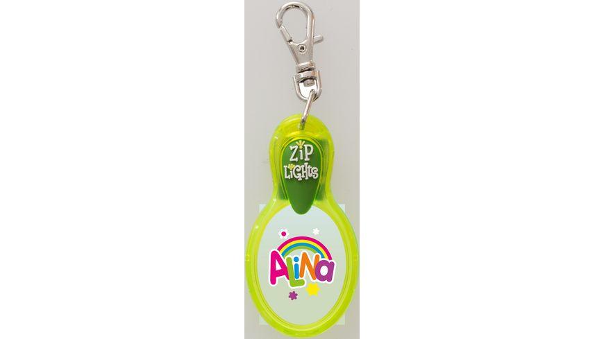 H H Reissverschlusslaempchen Zip Lights Alina