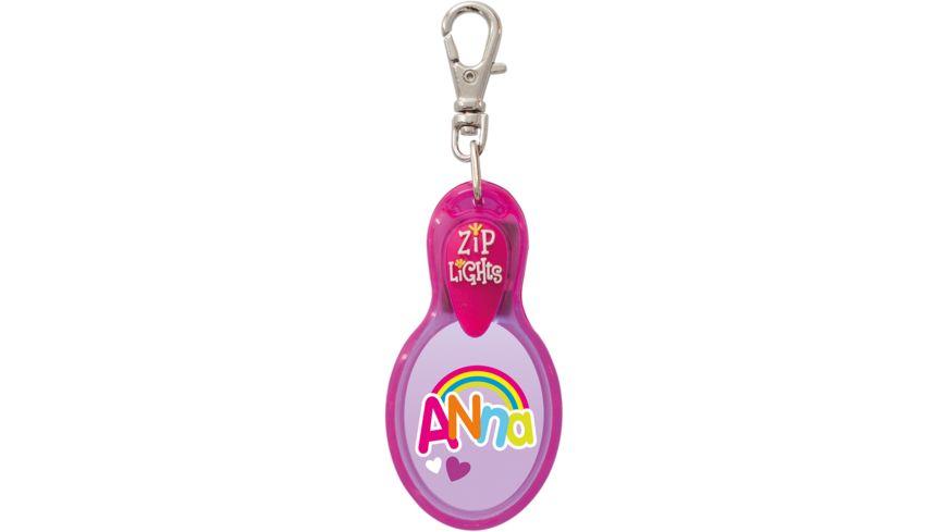 H H Reissverschlusslaempchen Zip Lights Anna