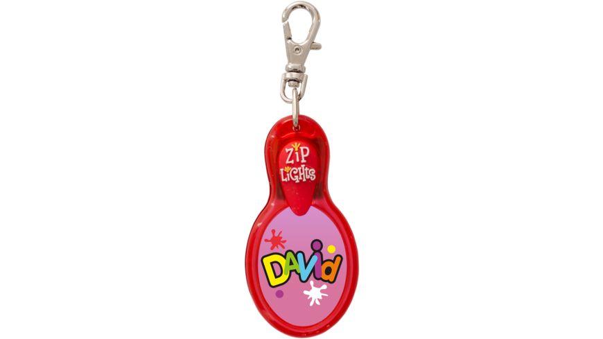 H H Reissverschlusslaempchen Zip Lights David