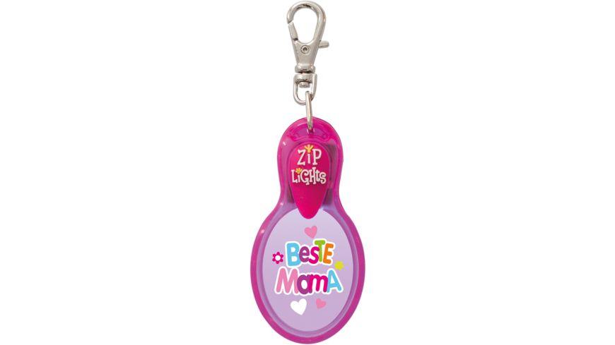 H H Reissverschlusslaempchen Zip Lights Beste Mama