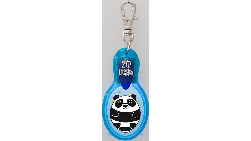H H Reissverschlusslaempchen Zip Lights Panda
