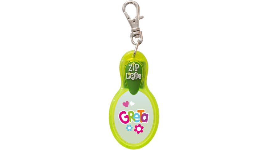 H H Reissverschlusslaempchen Zip Lights Greta