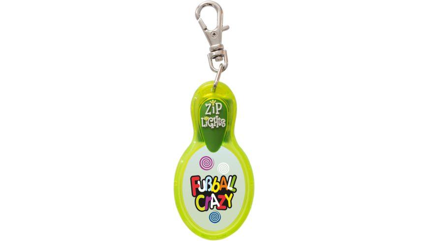 H H Reissverschlusslaempchen Zip Lights Fussball Crazy