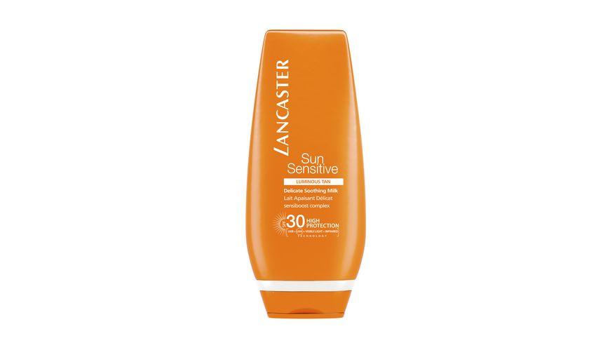 LANCASTER Sun Sensitive Face Body Delicate Sooting Milk SPF 30