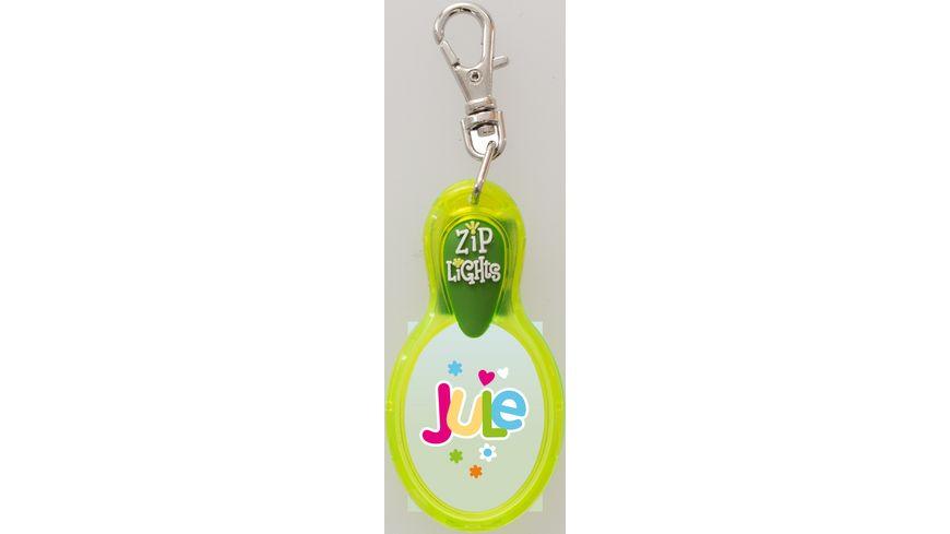 H H Reissverschlusslaempchen Zip Lights Jule