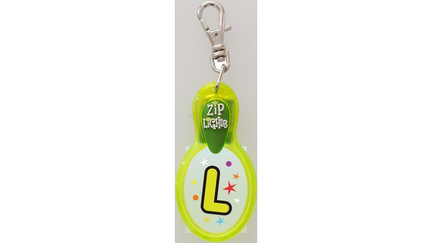 H H Reissverschlusslaempchen Zip Lights L
