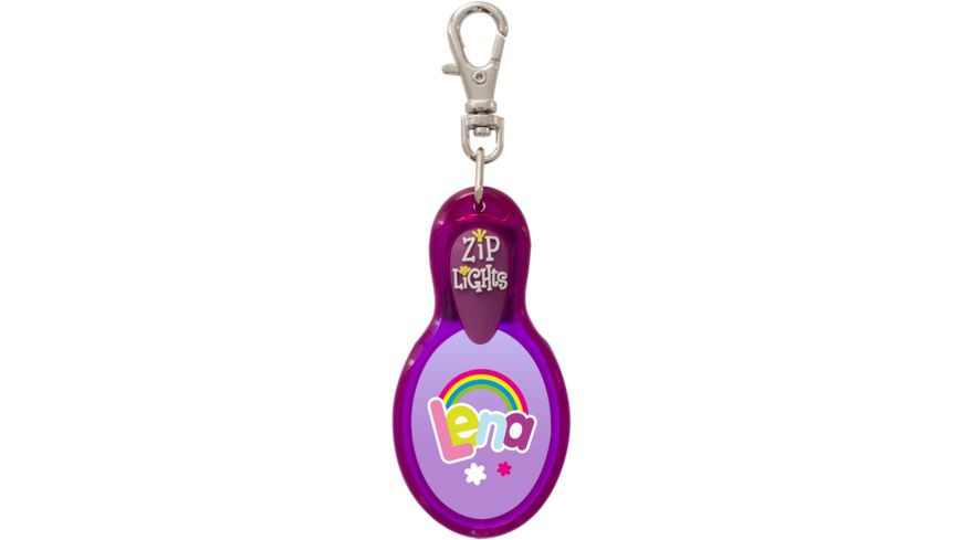 H H Reissverschlusslaempchen Zip Lights Lena