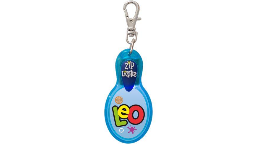 H H Reissverschlusslaempchen Zip Lights Leo