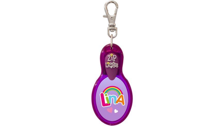 H H Reissverschlusslaempchen Zip Lights Lina