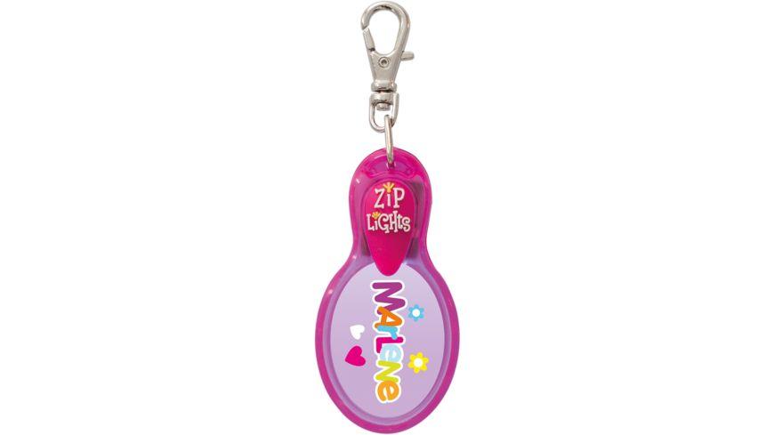 H H Reissverschlusslaempchen Zip Lights Marlene