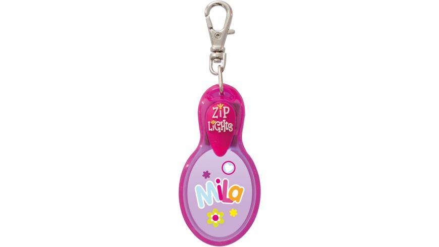 H H Reissverschlusslaempchen Zip Lights Mila