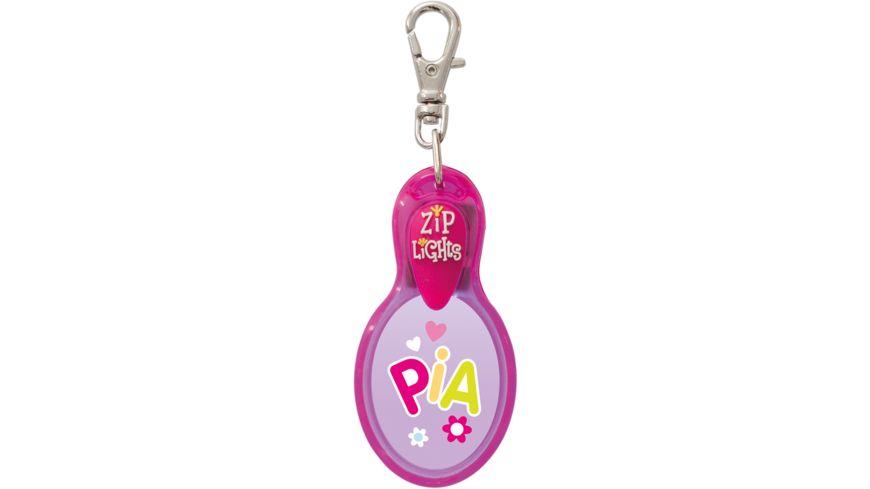 H H Reissverschlusslaempchen Zip Lights Pia