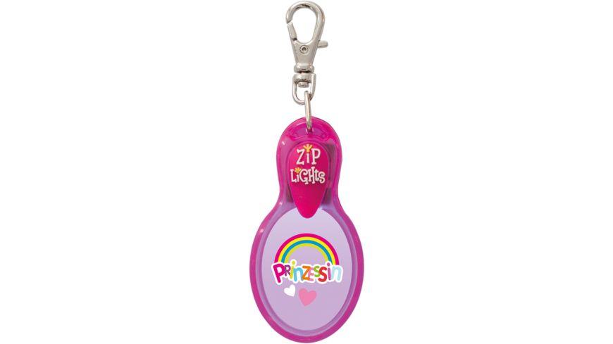 H H Reissverschlusslaempchen Zip Lights Prinzessin