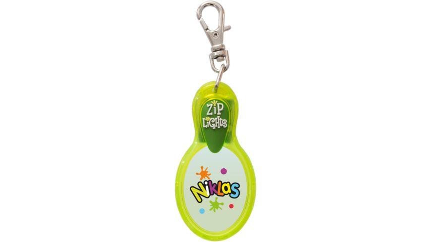 H H Reissverschlusslaempchen Zip Lights Niklas