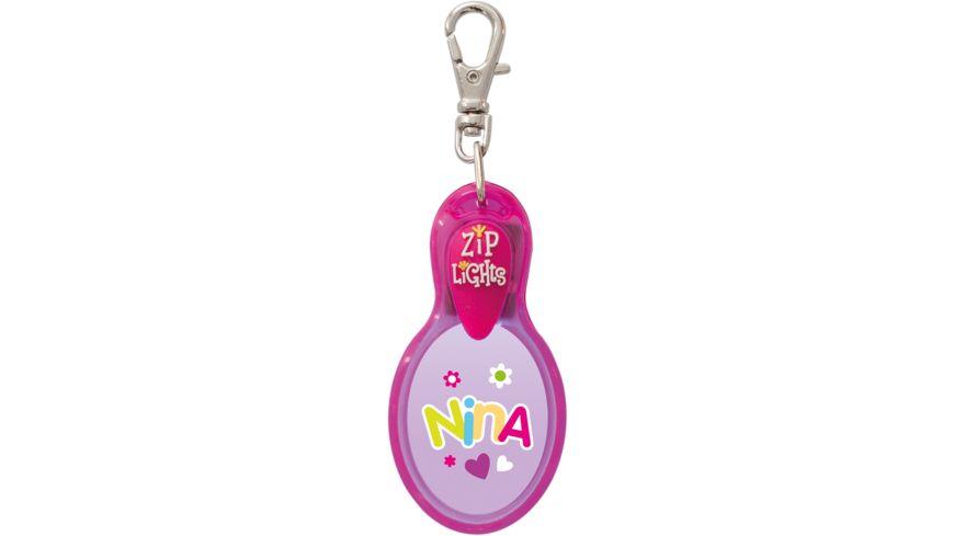 H H Reissverschlusslaempchen Zip Lights Nina