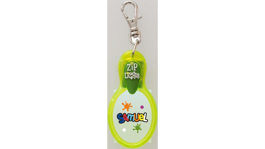 H H Reissverschlusslaempchen Zip Lights Samuel
