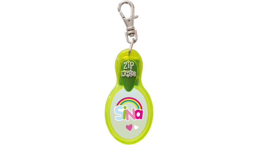 H H Reissverschlusslaempchen Zip Lights Sina