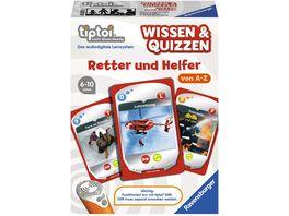Ravensburger tiptoi Wissen Quizzen Retter und Helfer