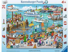 Ravensburger Puzzle Ein Tag am Hafen 24 Teile