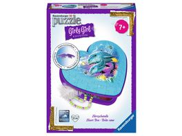 Ravensburger Puzzle 3D Puzzles Girly Girl Edition Herzschatulle Unterwasser