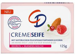 CD Cremeseife Beeren Mandelmilch