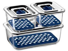 WMF Frischhalte und Serviersystem Set Top Serve 3 tlg
