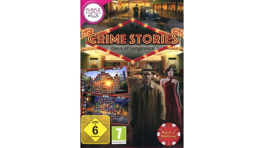 Crime Stories Days of Vengeance