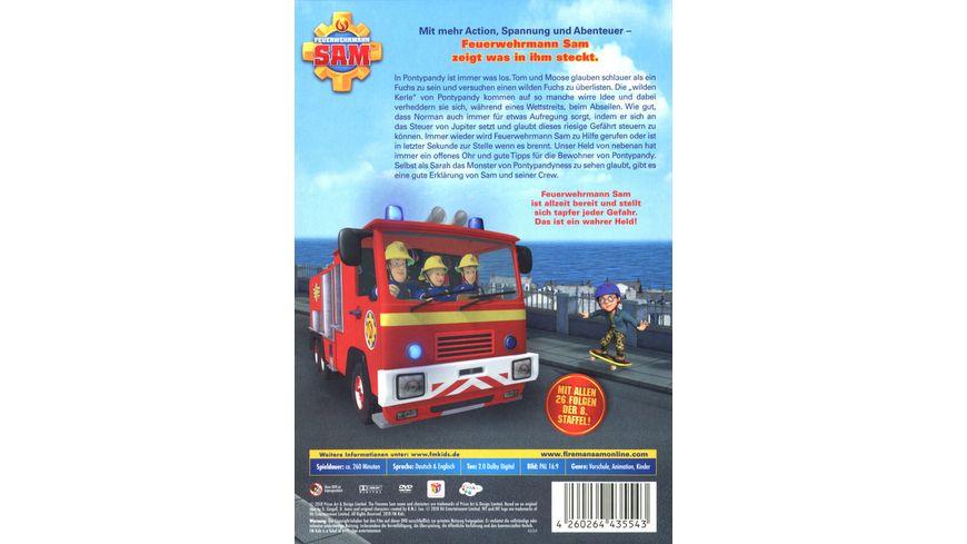 Feuerwehrmann Sam Die komplette Staffel 8 5 DVDs